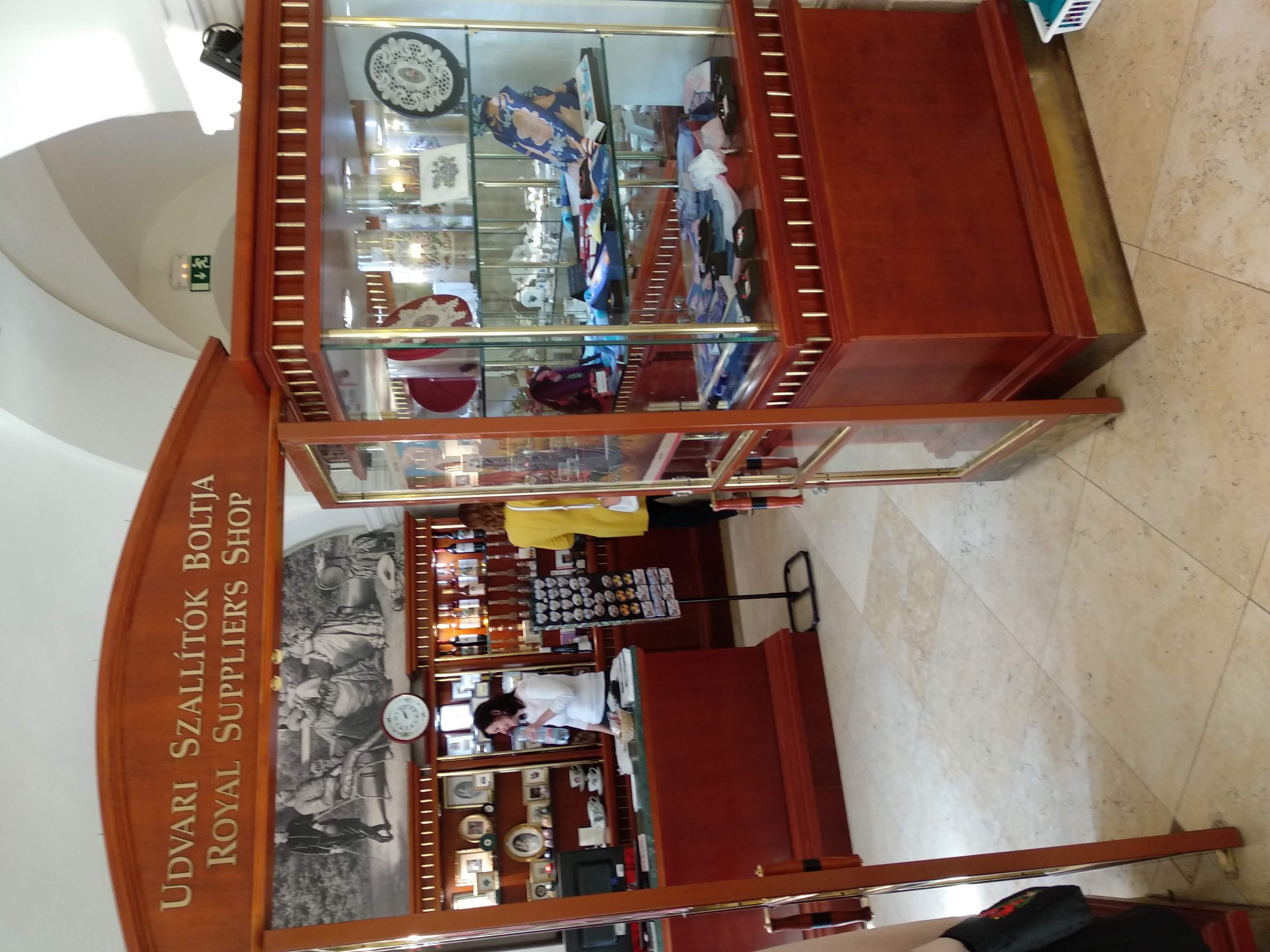 MileSilk az Udvari beszállítók boltjában